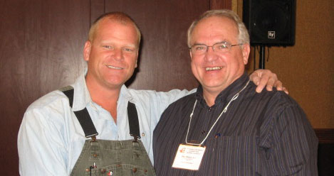 Mike Holmes with Ottawa Home Inspector - Paul Wilson of Home Inspectos